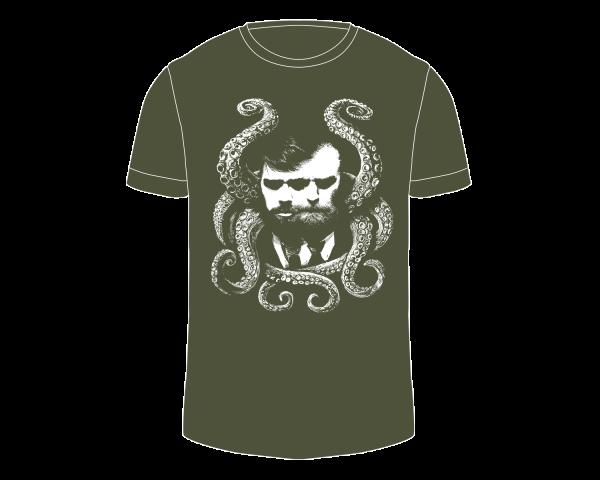 Herren Shirt | Lovecraft | forest green
