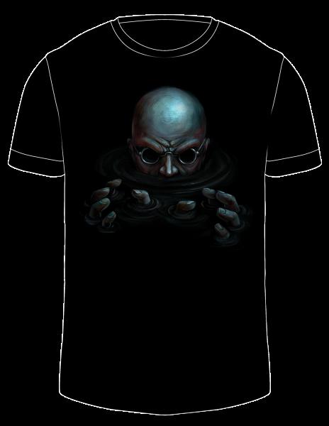 Herren Shirt | Kommt herunter | schwarz